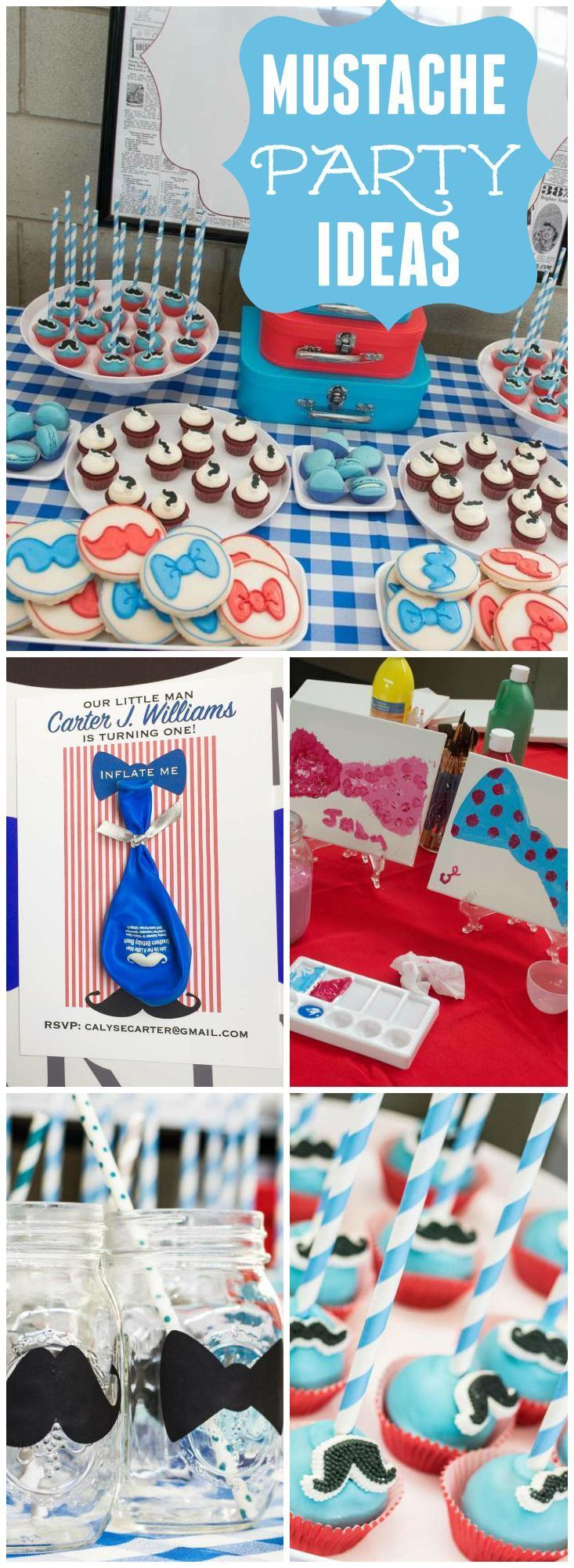 mustache bash party ideas.Best 20 Mustache Birthday Party – #Bash #Birthday #ide…