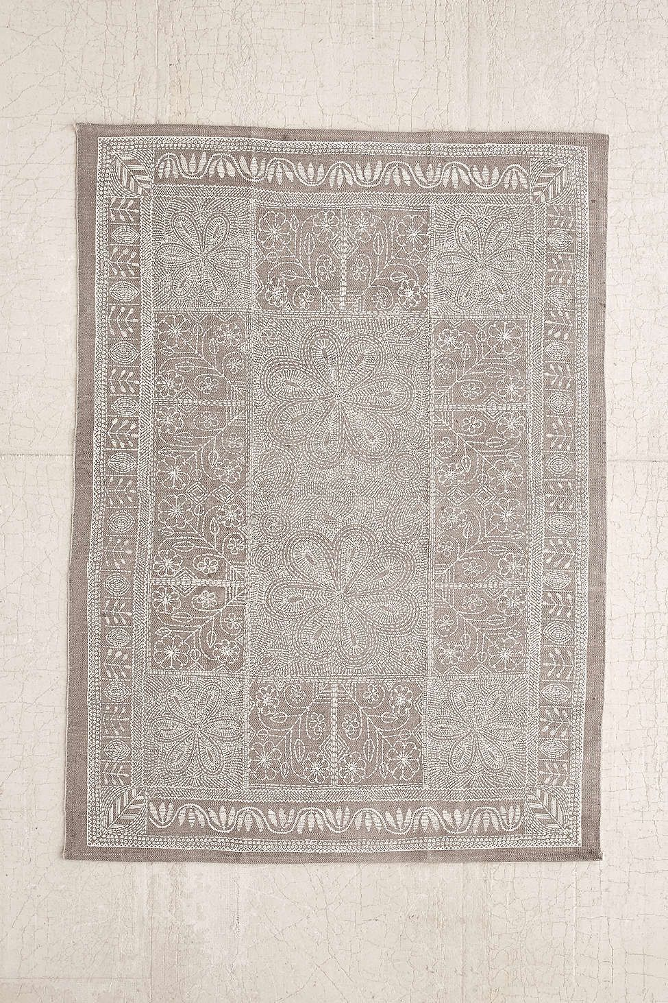 Hallway rug ideas  Plum u Bow Margarita Stitch Mark Printed Rug  Hallway ideas  Pinterest