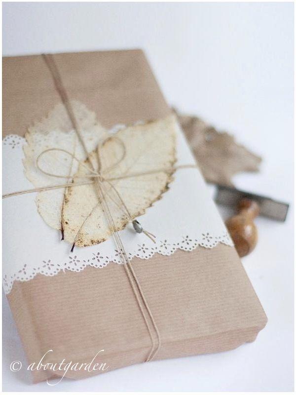 kraft paper | bleached leaves ❥