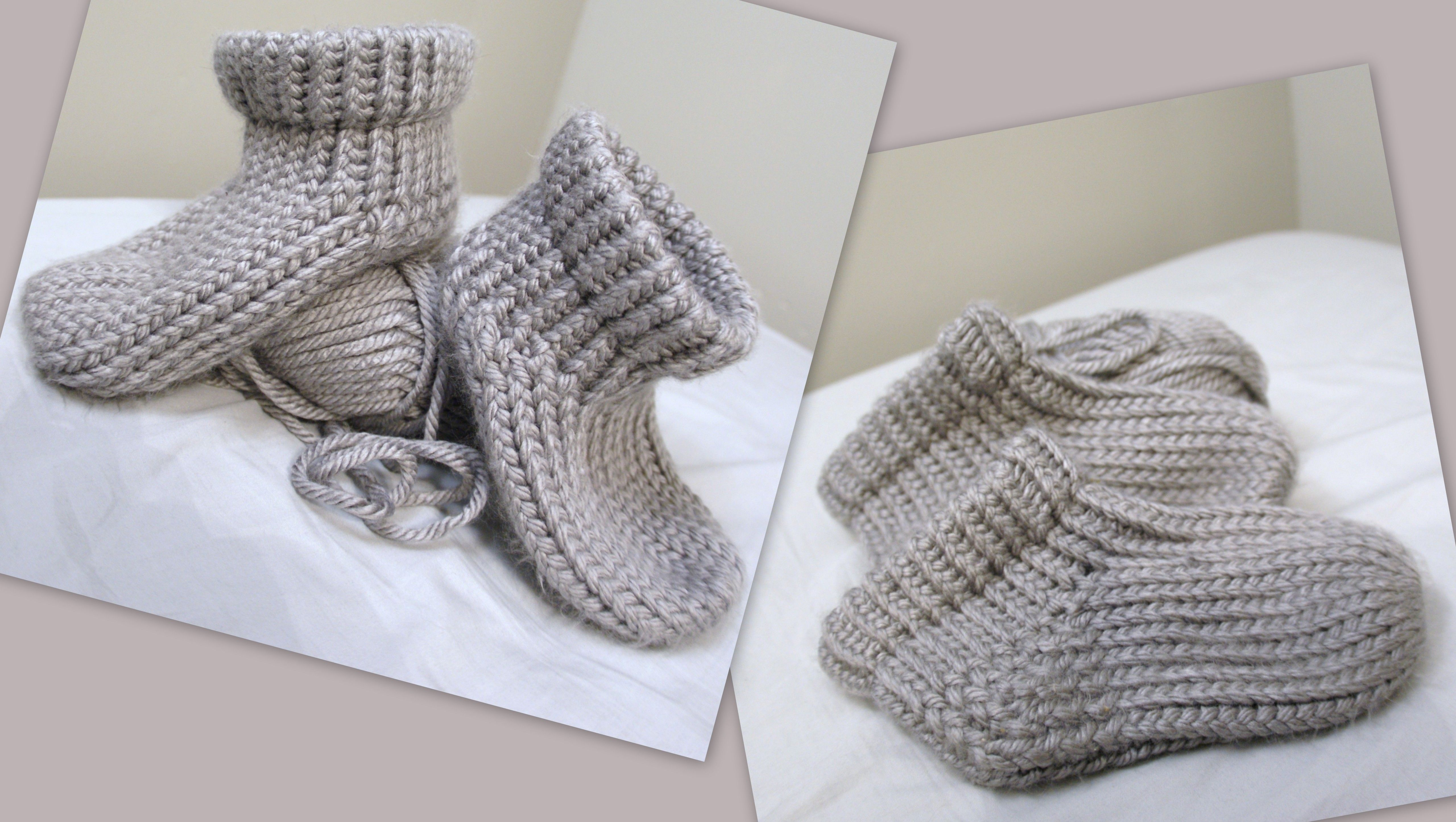 Recent loom knit creations. Adult Booties If you'd like to see a ...