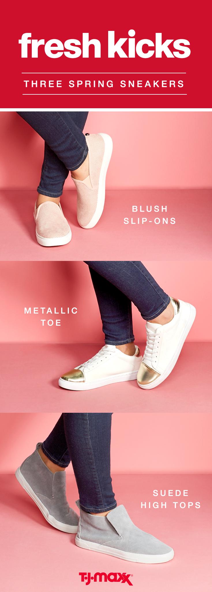 wear sneakers