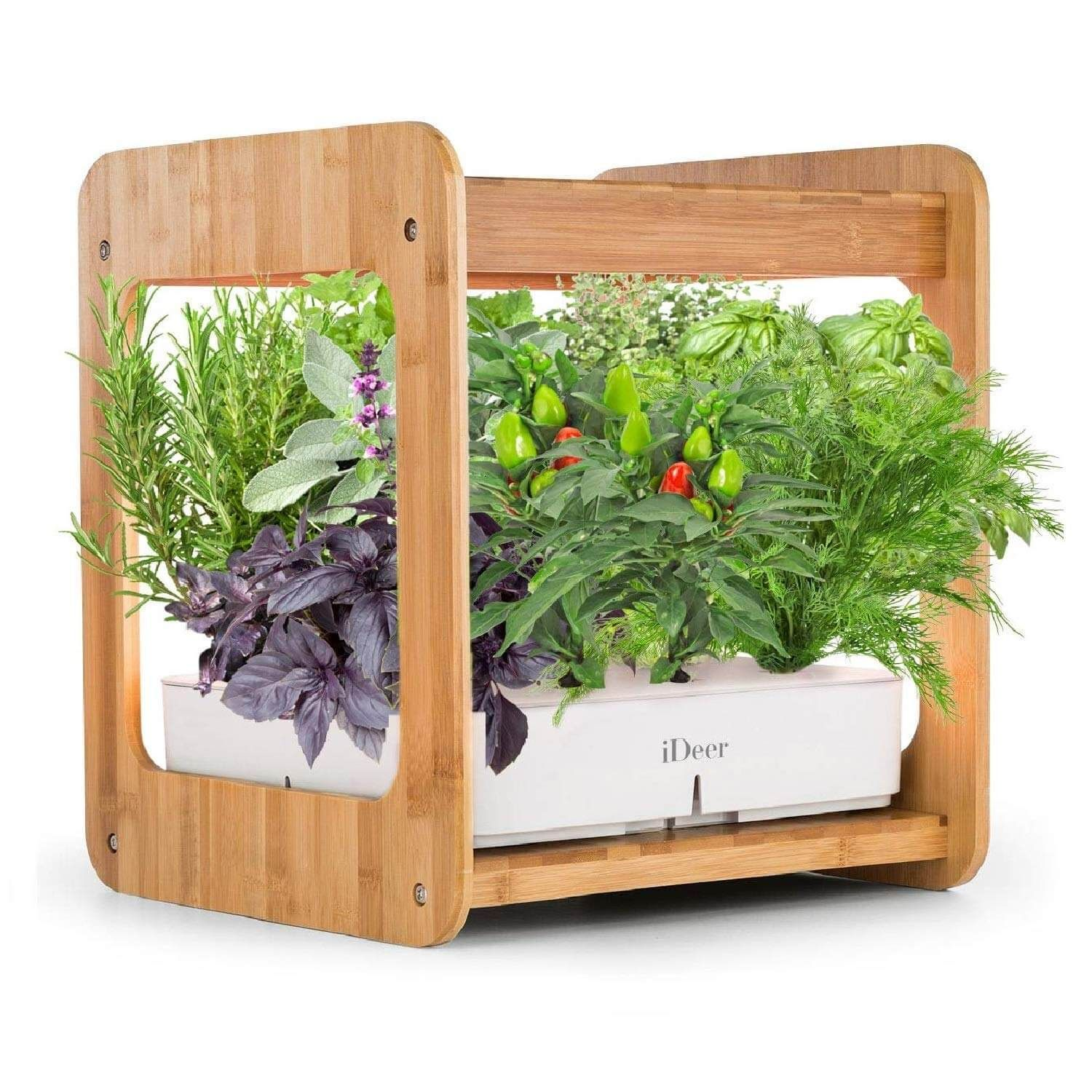 Smart Indoor Gardening System with LED Plant Grow Light ...