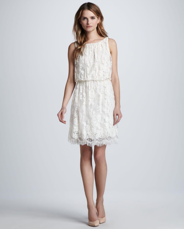 Alice olivia denise sleeveless lace dress dress is my weakness