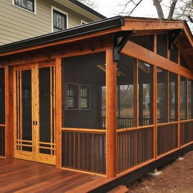 craftsman screened porch porch design house with porch on steps in discovering the right covered deck ideas id=25145