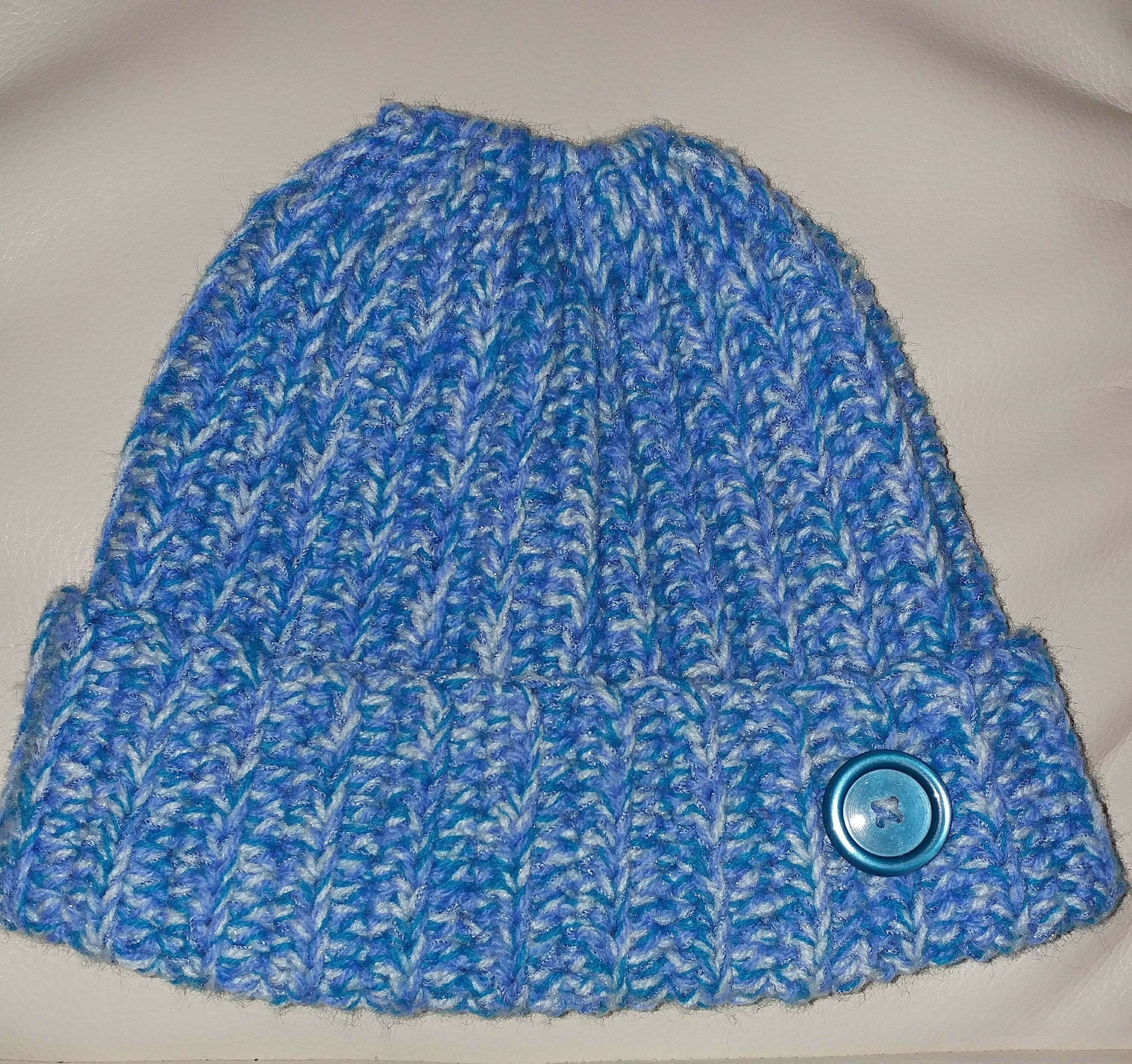 c7a4b6a41 Crochet holey hat in blue | Knit/Crochet - My Knits | Pinterest ...