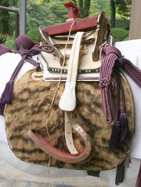 Nikko Toshogu - ceremonial saddle. | Samurai horse ...