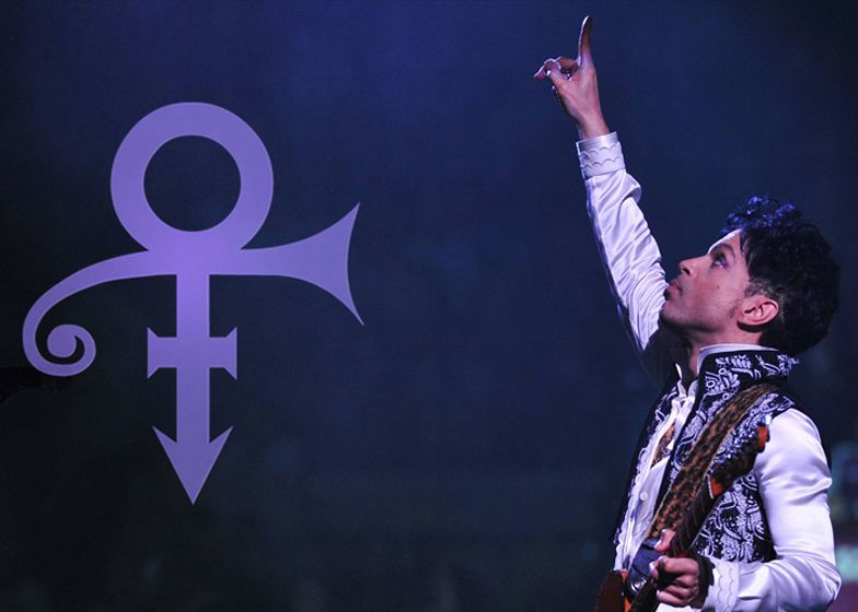 By Changing His Name To A Graphic Symbol For A Period Prince