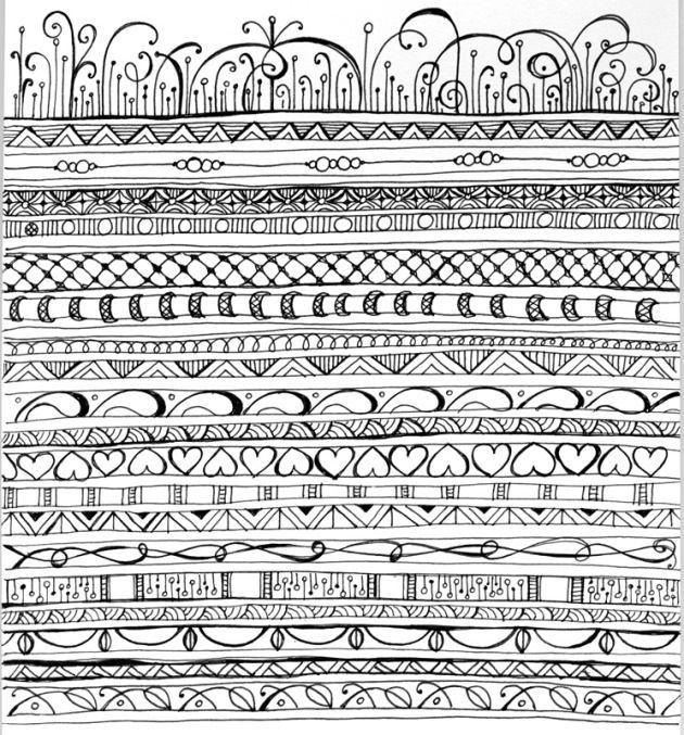 Line Art Zendoodle : Zen doodles pattern zenspirations gallery playful