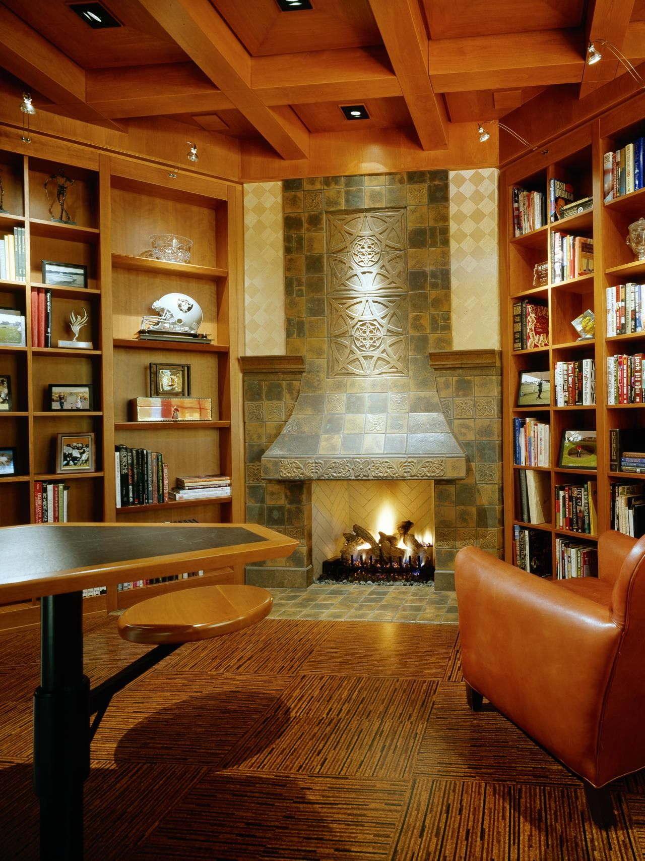 Traditional Home Library Design Ideas: Decorating And Design Ideas For
