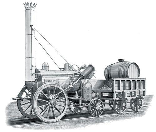 Stephenson's Rocket   trains in 2019   George stephenson