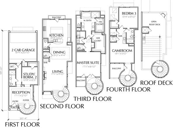 luxury townhome floor plans google search home floorplans - Luxury Floor Plans