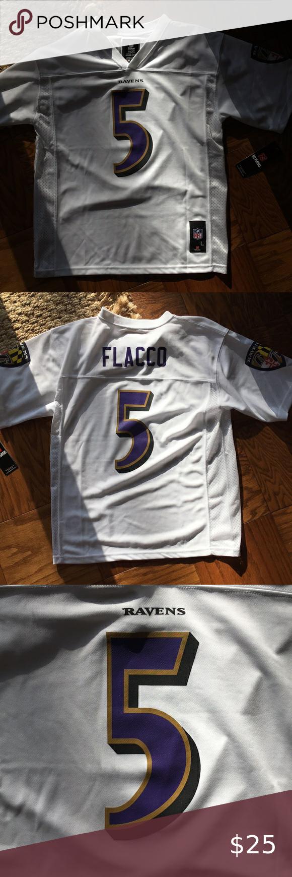 joe flacco youth jersey