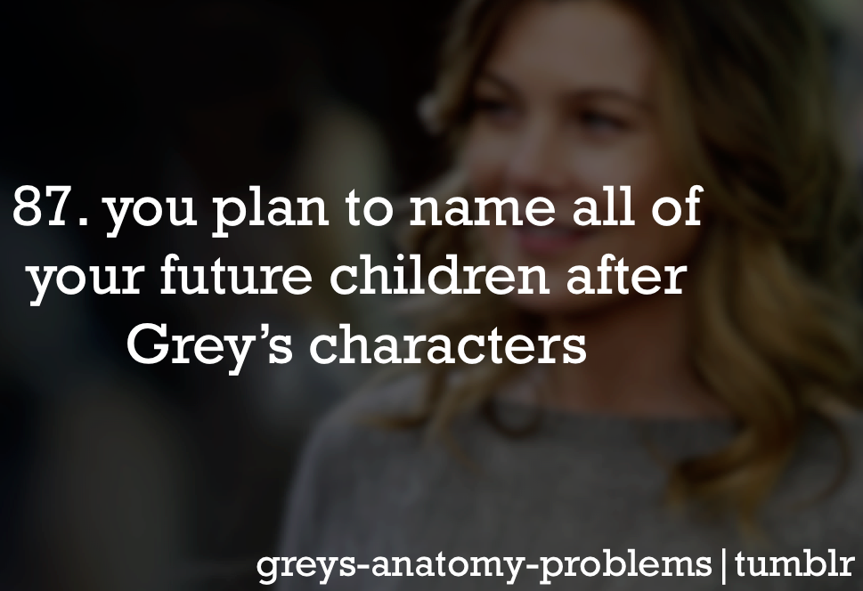 Dr. Evil Spawn is a great name | Greys anatomy❤ | Pinterest ...