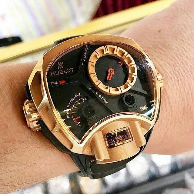 10a21ad7e9c Very Exotic style. Hublot MP-02 with  310