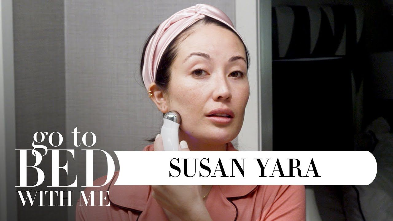 Youtuber Susan Yara S Nighttime Skincare Routine Go To Bed With