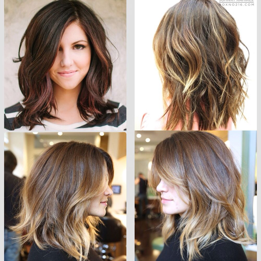 Pin By Shanna Glaeser On Face It Summer Hairstyles Hair Highlights Balayage