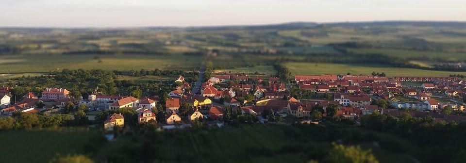 Landscape Town Mikulov Travel Landmark Nature