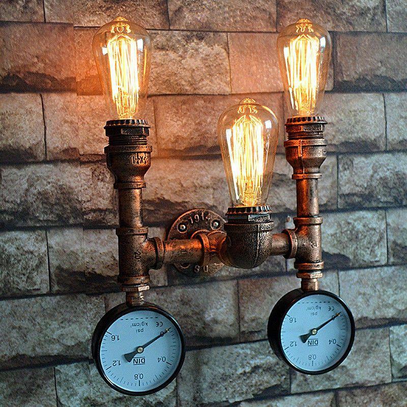 40 Euro Finden Sie Top Angebote Fur E27 Wandleuchte Vintage Retro Eisen Rohr Wand Lampe Wasserrohr Industrielampe Bei Wandleuchte Vintage Wandlampe Wandleuchte