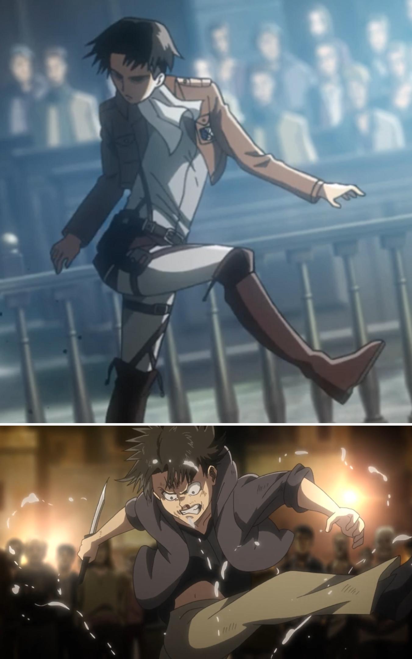 Mic Drop Attack On Titan Meme Attack On Titan Anime Attack On