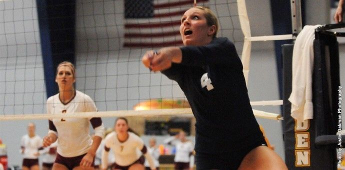 Konetchy Named Nsic Setter Of The Week For Second Week In A Row The Row Athlete Concordia