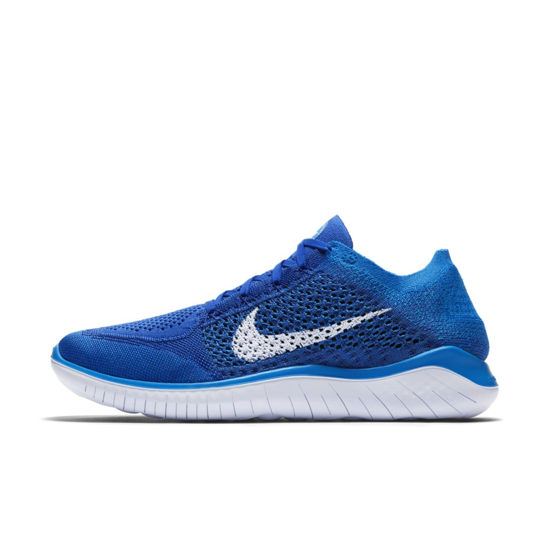 online retailer 4ce5c f83f1 Nike Free RN Flyknit 2018 Men s Running Shoe Size 12.5 (Game Royal)
