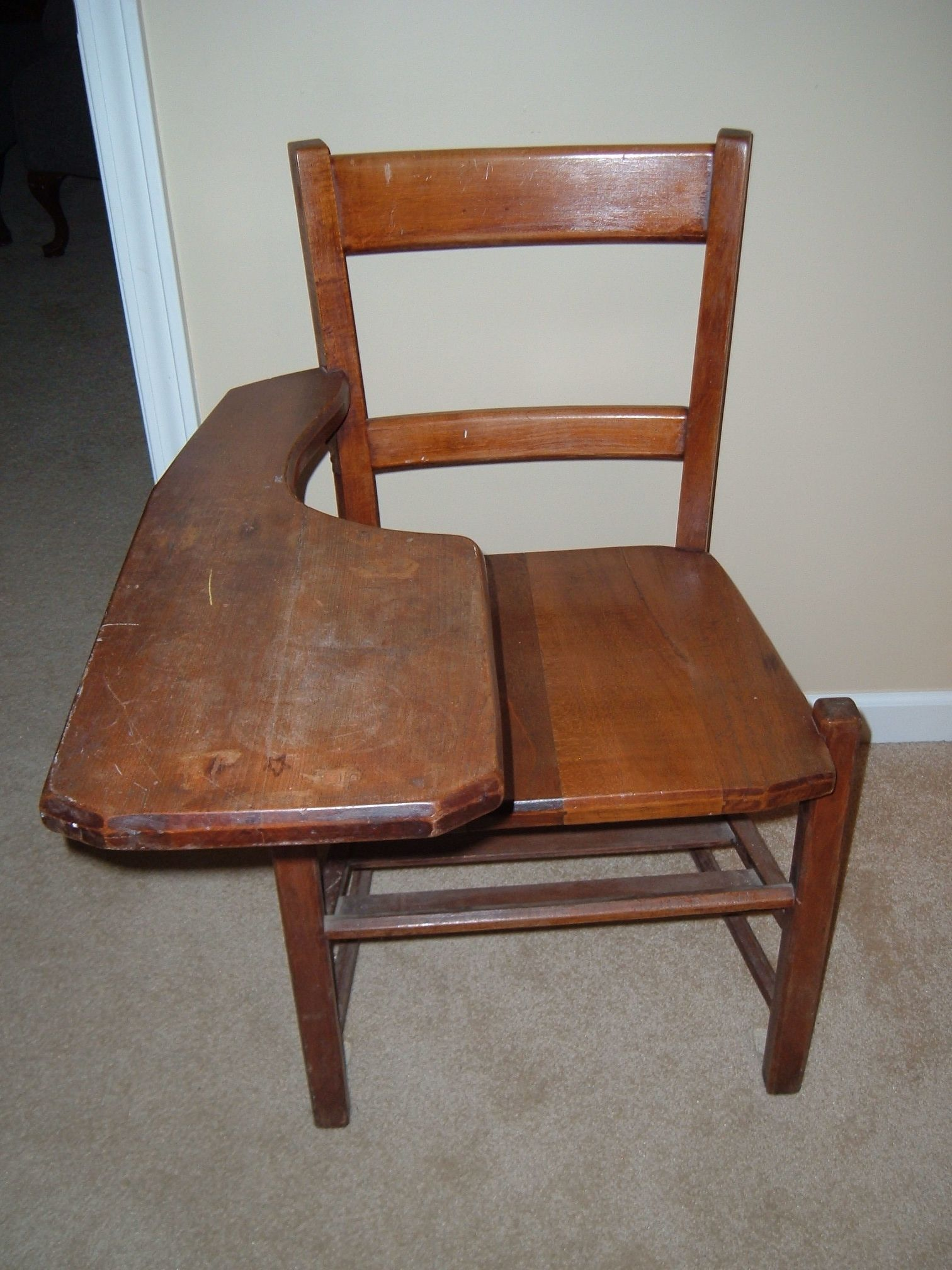 Vintage School Desk Chair - Desk chairs are just perfect for offices. You  can not look for a better chair than a desk chair - Old School Desk Chair Http://devintavern.com Pinterest