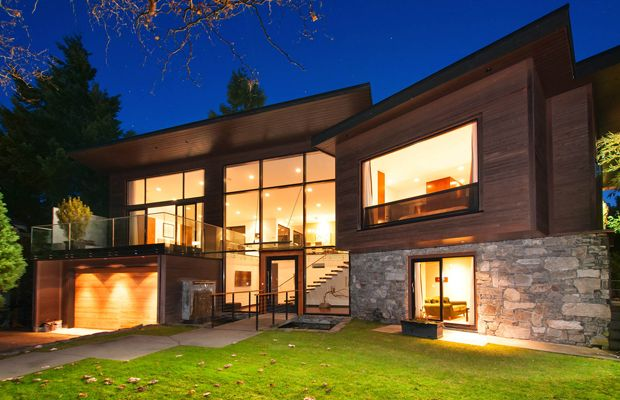 Photos: $4.3M West Vancouver waterfront home