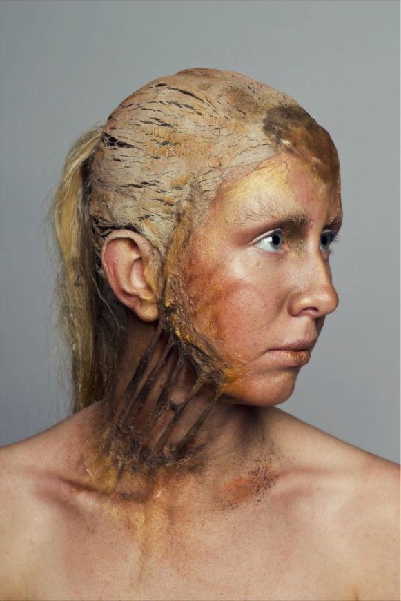 Rust make-up...Jenny oliver