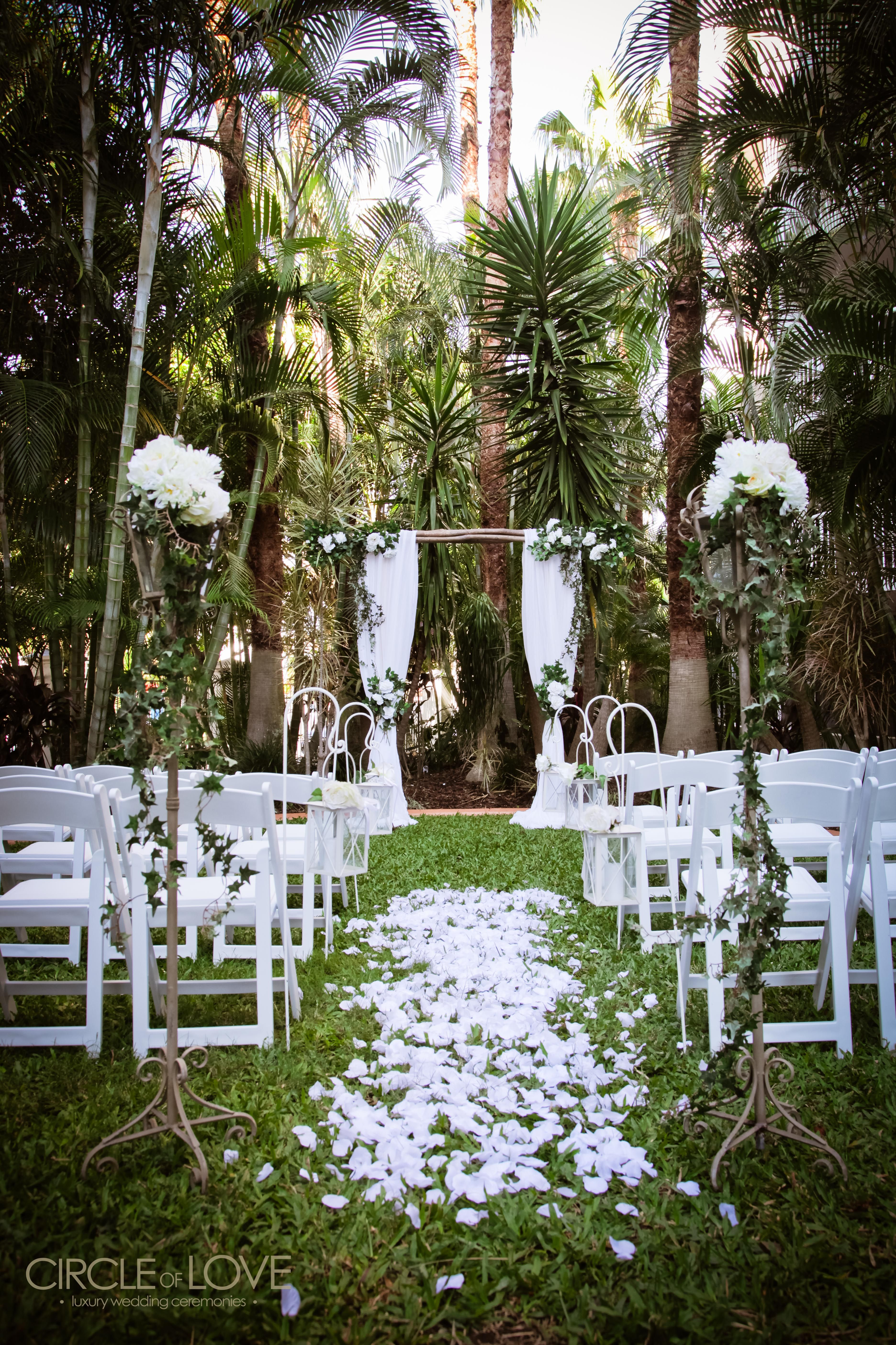 Garden wedding ceremony venues gold coast