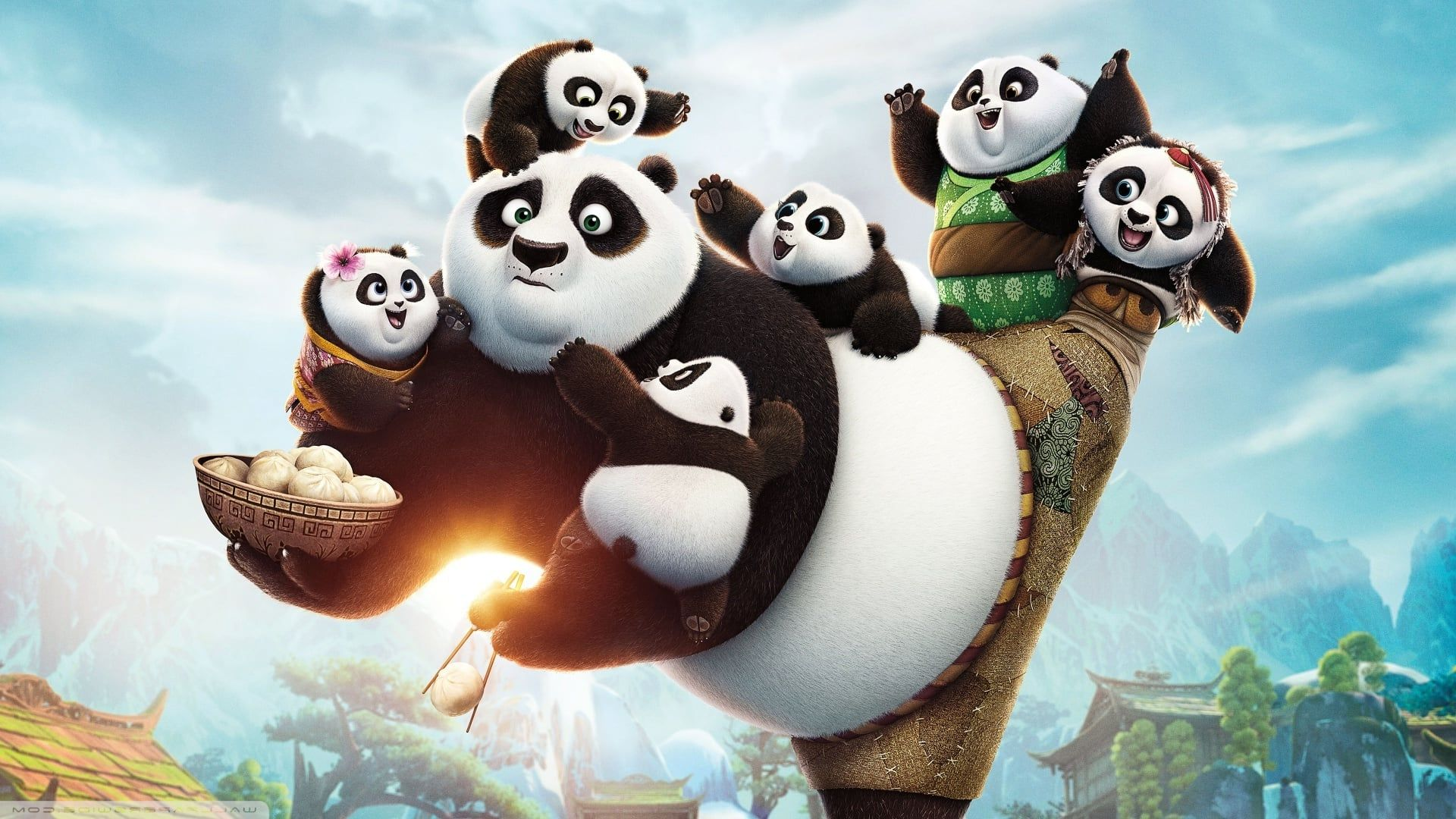 kung fu panda hd wallpapers backgrounds wallpaper | wallpapers