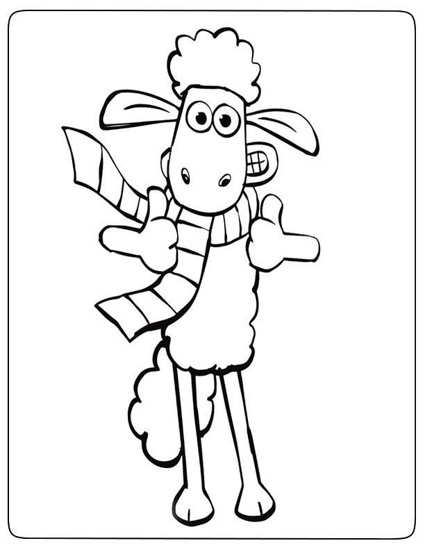Coloriages De Shaun Le Mouton à Imprimer Coloriage à Imprimer