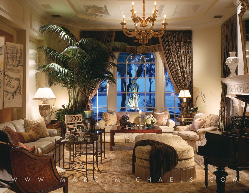 classic mediterranean living room chandelier in winter park fl