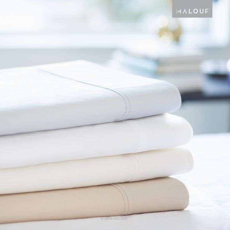 These Beautiful 600 Thread Count Sheets Have A Unique Two Sided Weave Design That Features Raised Cotton Thread Fitted Sheet Set Microfiber Sheets Cotton Blend