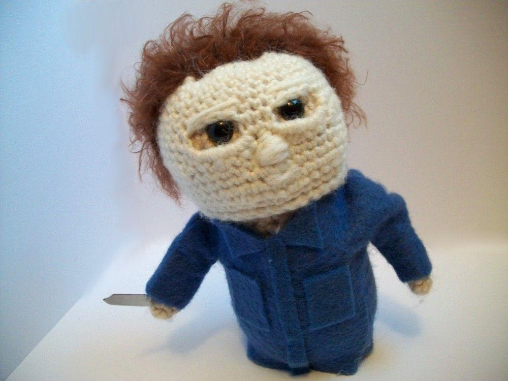 Michael Myers Amigurumi   Amigurumis, crochet..2   Pinterest   Häkeln