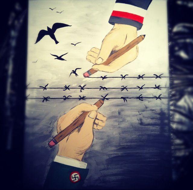 Holocaust Tattoo Drawing