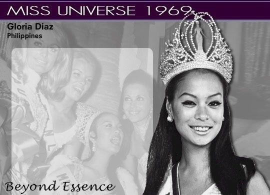 First Filipina Miss Universe Gloria Diaz, 1969 | Definitely Filipino