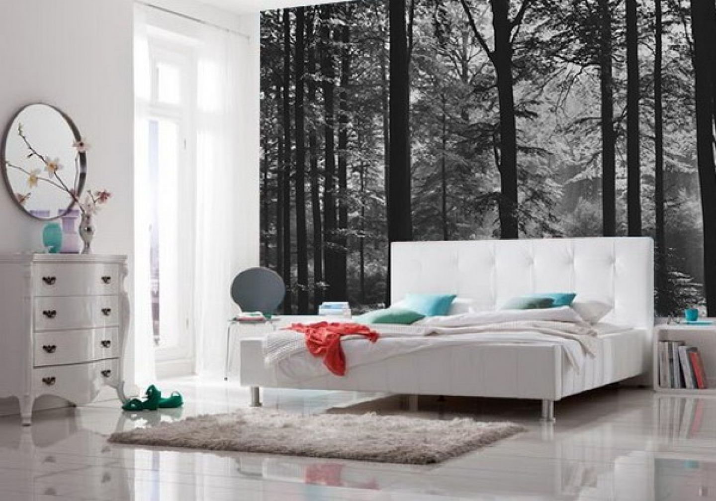 bedroom bliss forest wallpaper bliss and bedrooms