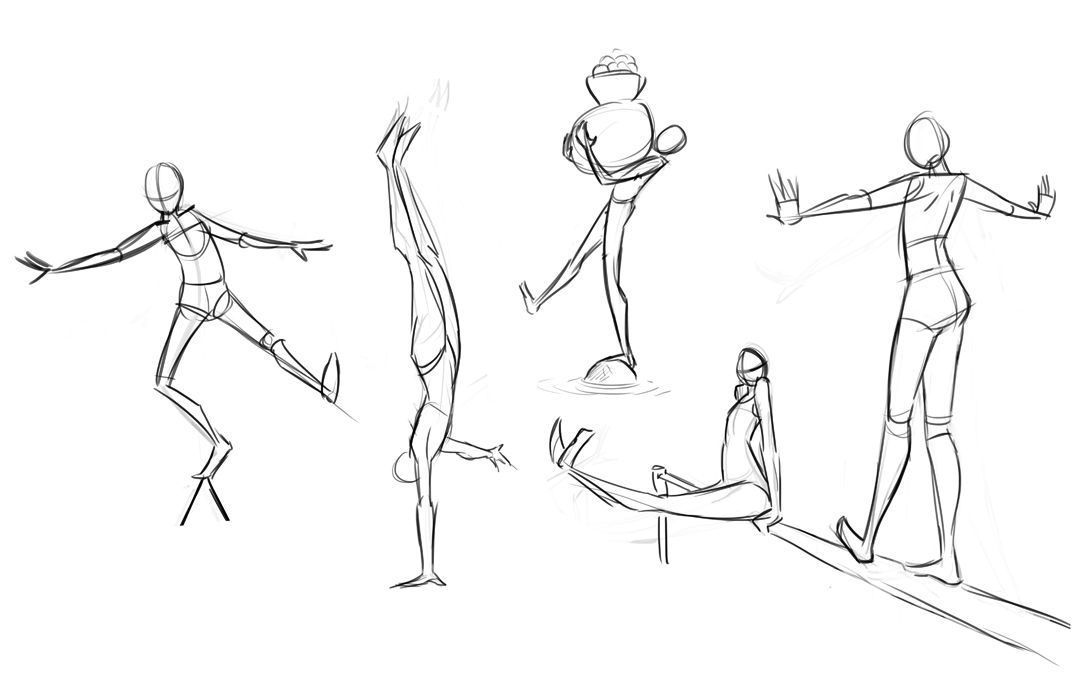 Here Be A Number Of Sketches I Ve Done For My Animation Class They