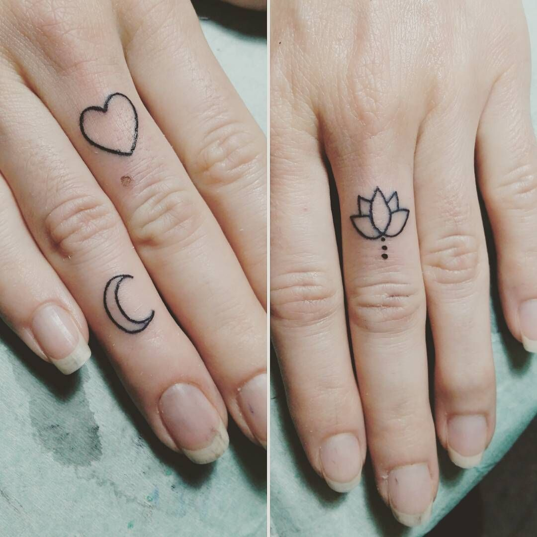 15 Tiny Tattoo Ideas That Are Beyond Dainty Tiny finger