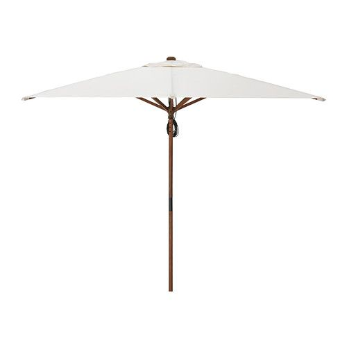 Langholmen Umbrella Ikea The Rectangular Shape Of This Parasol Makes