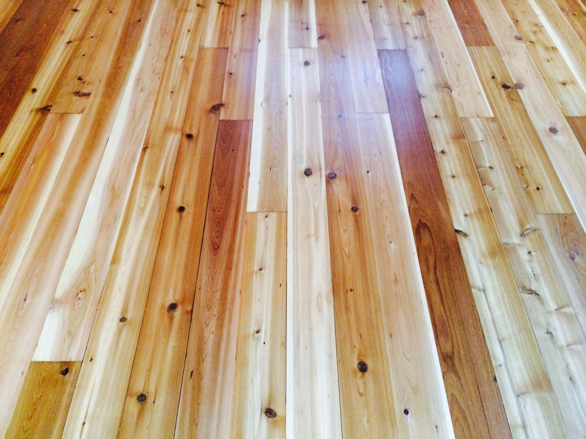 This Lakeside Cottage Had This Cedar Floor We Sanded And Refinished With Amber Sealer And Bona Refinishing Hardwood Floors Lakeside Cottage Refinishing Floors