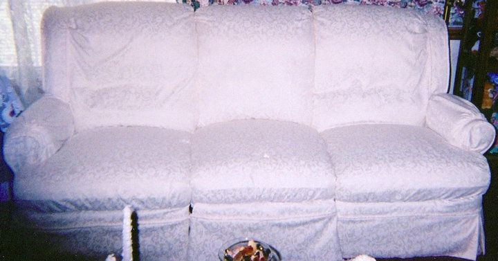 White Reclining Sofa Slipcover
