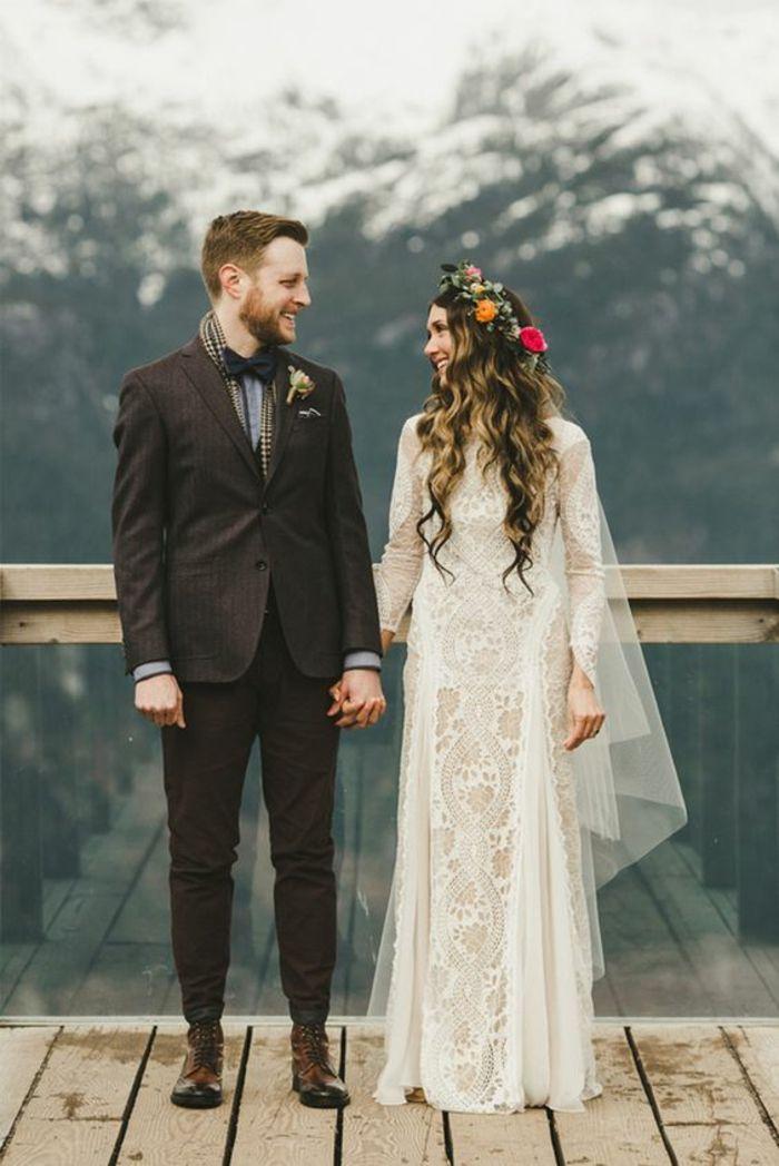 1001+ idées pour une vision chic avec la robe de mariée en