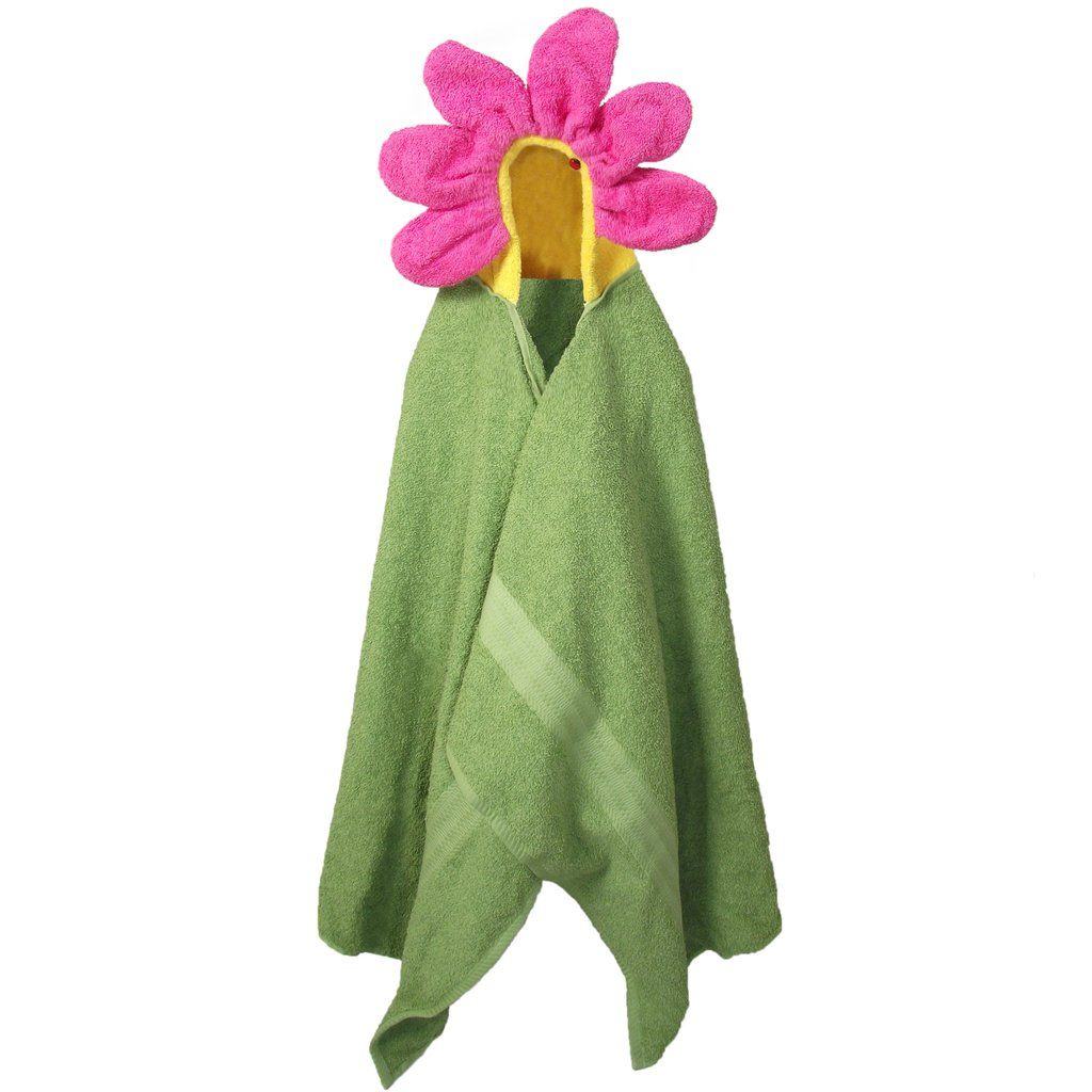 Hooded Towel Flower Bath Towels For Children And Adults