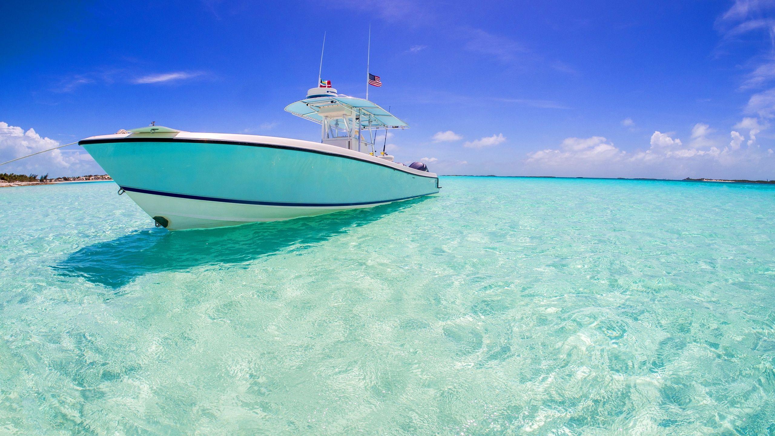 boat clear water wallpapers sky cloud ocean. | ocean | pinterest