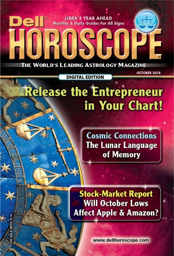 Dell Horoscope October 2014 edition - Read the digital edition by Magzter on your iPad, iPhone, Android, Tablet Devices, Windows 8, PC, Mac and the Web.