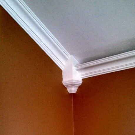 Crown Molding On Vaulted Ceilings Transition Custom Corner Box By Volcan Trimworks Crown Molding Vaulted Ceiling Crown Molding Ceiling Trim