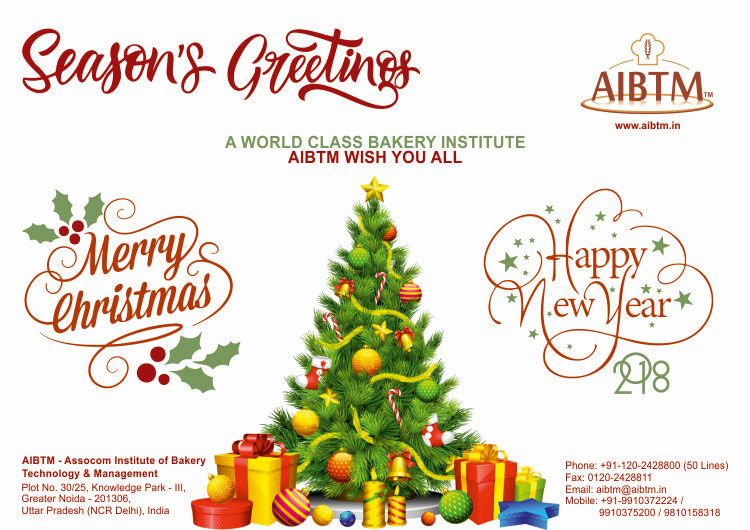AIBTM Wish you a Merry Christmas and a prosperous New Year ...