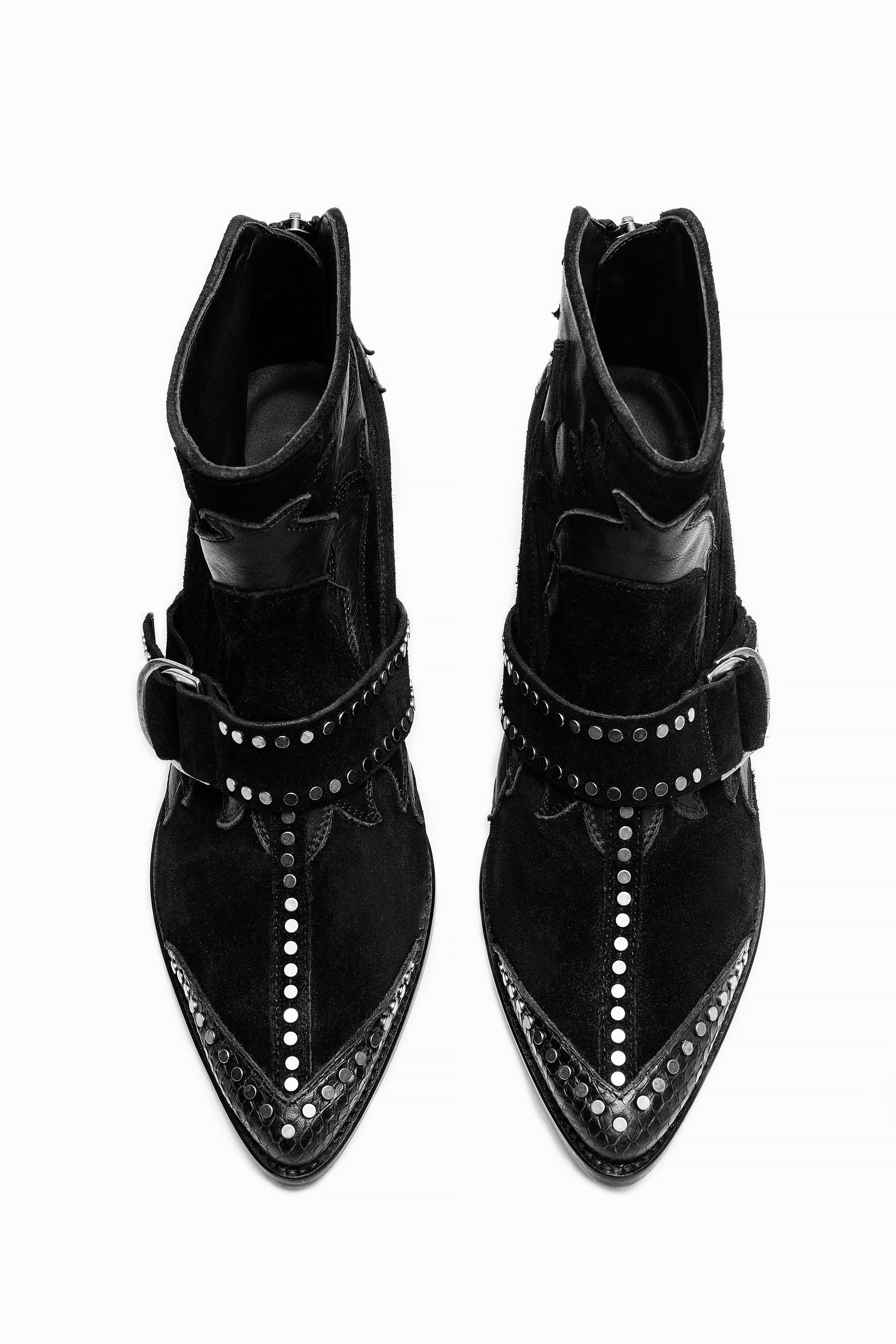 Cara Black Boots Black Zadig Voltaire Shoes In 2018