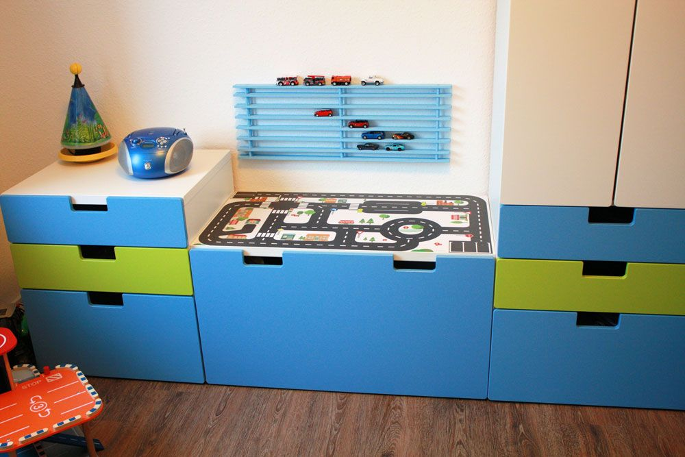 IKEA Kinderzimmer STUVA mit Limmaland Kleine Stadt Ikea